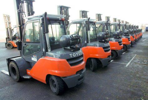 Alle lpg-trucks hebben een vaste, 70 liter tank die bij het eigen lpg-tankstation van PontMeyer eenvoudig gevuld kunnen worden.